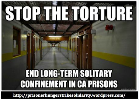 'Stop the torture' PHSS graphic