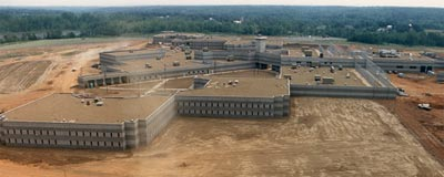 Potosi Correctional Center, Missouri, aerial view