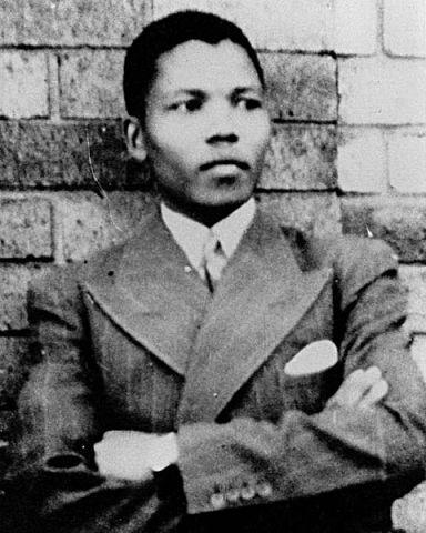 Nelson Mandela 1937