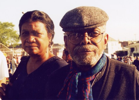 Amina and Amiri Baraka, web