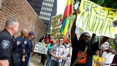 London march to Free Mumia 120911 by Getty Images