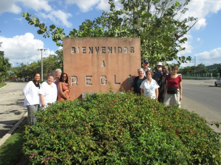 Richmond Regla Cuba Tour Welcome to Regla GÇô Richmond delegation 1213 courtesy Tarnel Abbott, web