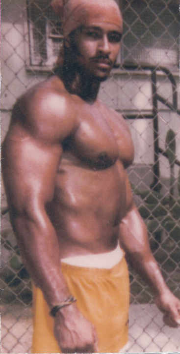 Larry 'Key' Mitchell bodybuilder