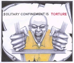 'Solitary Confinement Is Torture' 091713 by Michael D. Russell, web