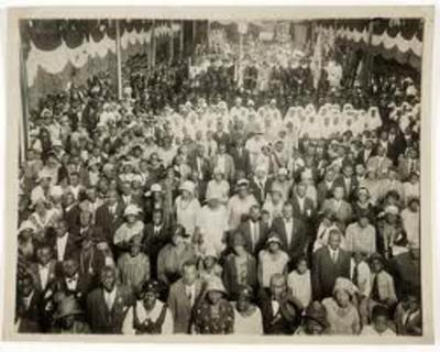 UNIA convention 25,000 delegates Harlem's Liberty Hall 1920