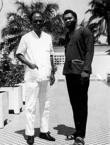 Pres. Kwame Nkrumah, Obi Egbuna Sr