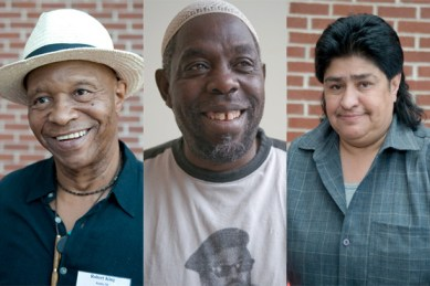 Robert King, Bilal Sunni-Ali, Tommy Escarcega, survivors of solitary by Terry Foss, AFSC, Flickr