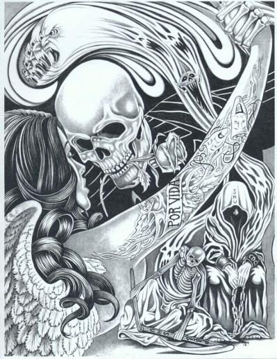 'Por Vida' by Raymond Velasquez, web
