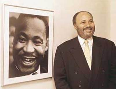 Martin Luther King III speaks about his father.