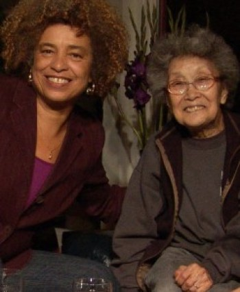 "Angela Davis and Yuri Kochiyama in the film ""Mountains That Take Wing,"" directed by C.A. Griffith – Photo: ©QUAD Productions"