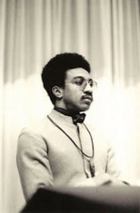 H. Rap Brown addresses a National Guardian meeting in New York City on Oct. 27, 1967. This hero of the Black Power Movement, one of the most fiery and influential leaders of the 20th century, deserves our strongest support.