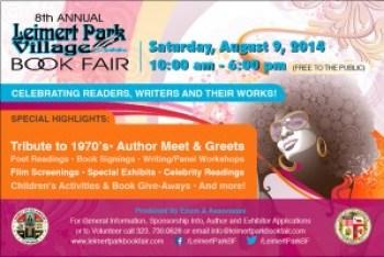 Leimert Park Village Book Fair ad 080914