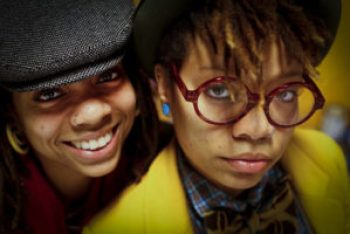 Melanie and Melorra Green – Photo: Russel Yip, SF Chronicle