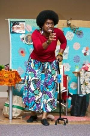 "Anita Woodley in ""Mama Juggs"" – Photo: Stan Chambers Jr. Photography"