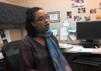 Professor of English and African diaspora studies Shannon Gibney