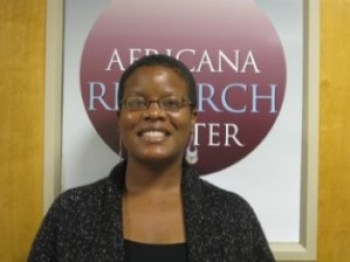 Professor of English and critical race theory Dr. Ersula Ore