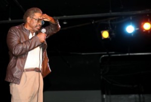 """UC Berkeley Professor Cecil Brown won the Champion of Biographical Literature award for his most recent book, """"Pryor Lives! How Richard Pryor Became Richard Pryor or Kiss My Rich Happy Black Ass."""" He was a close friend of Pryor and wrote screenplays for him, including """"Which Way Is Up?"""" – Photo: Malaika Kambon"""