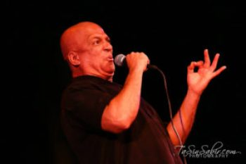Donald Lacy brought down the house when he performed at Black Media Appreciation Night 2014 on Sept. 13 in the Buriel Clay Theater. – Photo: TaSin Sabir