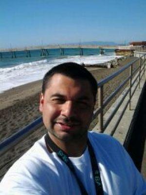 Antolin Marenco at San Francisco's Ocean Beach
