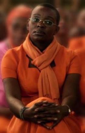 "Rwandan political prisoner Victoire Ingabire, as seen in the BBC documentary ""Rwanda's Untold Story"""
