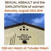 FAM rally at Tutwiler Prison for Women 082314 | San