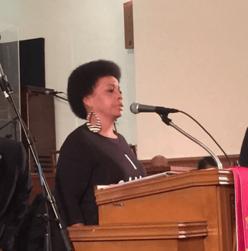 Mattie Scott issued one of the most heart-wrenching appeals of the evening. – Photo: Kia Croom