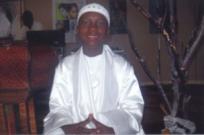 Yalani, then 13, beams at his Kinseyaba (kinship to truth), a rite of passage ceremony in the African Hebrew tradition, similar to a Bar Mitzvah. The boy, becoming a man, learns the responsibilities of manhood, especially that he is now accountable for his own actions.