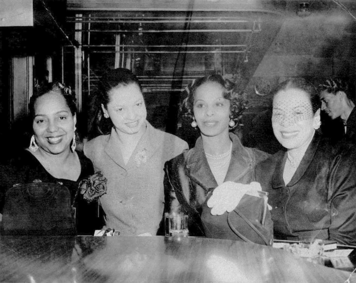 Leola-King-2nd-from-left-in-her-Blue-Mir
