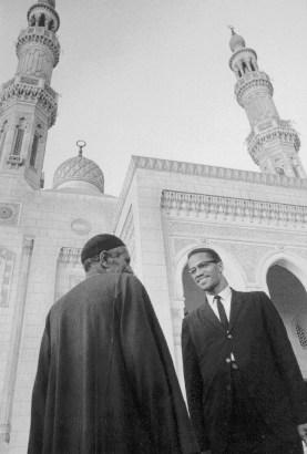 Malcolm X in Cairo 1964