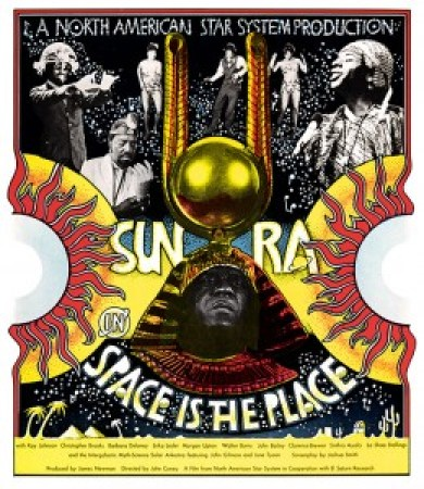 Sun Ra in 'Space Is the Place' cover