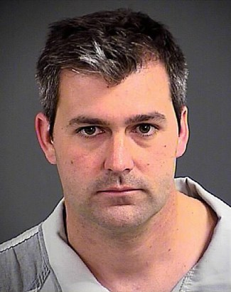 Booking photo of South Carolina killer cop Michael T. Slager taken by the Charleston County Sheriff's Office