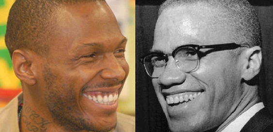 The piercing smiles of Young Malcolm Shabazz and his grandfather, Malcolm X, could melt the hardest hearts.