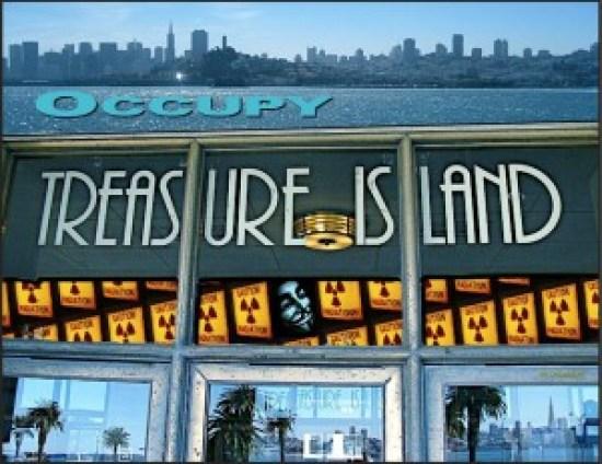 Treasure Island: Your Contamination Destination – Photo: Carol Harvey