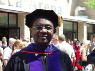 Rwandan American lawyer and former National University of Rwanda professor Dr. Charles Kambanda