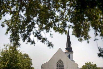 Emanuel African Methodist Episcopal Church in Charleston, S.C. – Photo: Brendan Smialowski, AFP