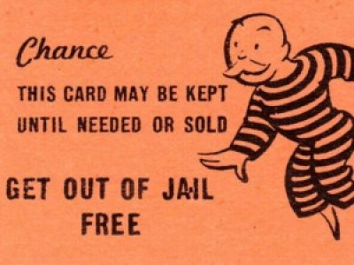 "Oldtimers who played Monopoly as kids will remember fondly the ""Get out of jail free"" card."