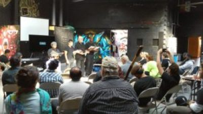 """The Los Angeles action for May 23 was a very well-received play, """"If the SHU Fits: Voices from Solitary Confinement,"""" compiled by Andy Griggs and Melvin Ishmael Johnson, directed by Andy Griggs and performed at Chuco's Justice Center. It will be performed again during Torture Awareness Month at the Neighborhood Unitarian Universalist Church, 301 N. Orange Grove Blvd, Pasadena 91103, on Tuesday, June 23, at 7 p.m."""