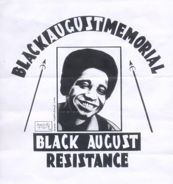 """Black August Resistance"" – Art: NABPP-PC Minister of Defense Kevin ""Rashid"" Johnson"
