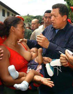 Chavez poured resources into reducing infant mortality, the best indicator of the health of a society, because he truly loved his people.