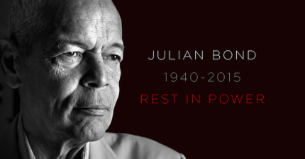 Color of Change has posted a card expressing condolences to the Bond family. Sign on at http://act.colorofchange.org/sign/julian-bond-rest-in-power/?t=2&akid=4709.699.c59UuU.
