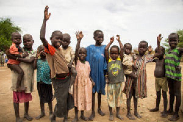 South Sudan children, web