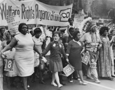 Taking advantage of media attention to systemic problems far too long ignored, the Welfare Rights Organization took to the streets during the Watts Rebellion.