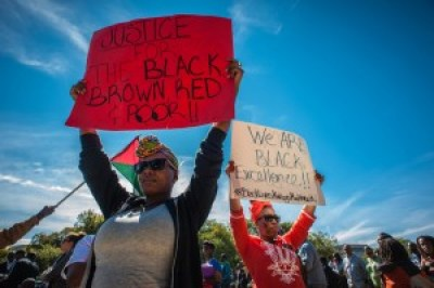 """Unlike 1995, women were encouraged to come to demand """"Justice or else,"""" and they took full advantage of the opportunity to make their voices heard. – Photo: Urban News Service"""