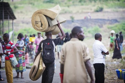 Congolese refugees return from South Sudan. – Photo: UNHCR