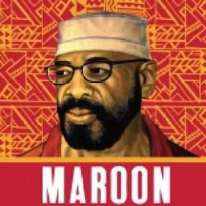 Maroon graphic