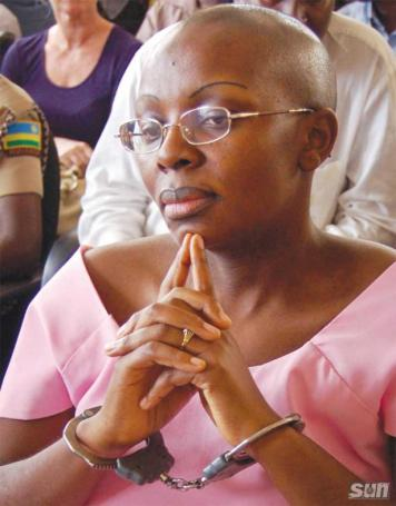 Victoire Ingabire Umuhoza, 2010 presidential candidate, is in jail for 15 years on fabricated charges.