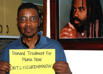 Keith Cook is fighting hard for the life of his younger brother, Mumia Abu-Jamal, and he urges us to join him.