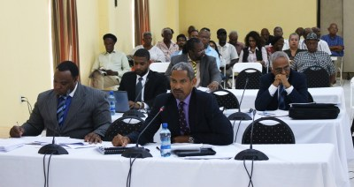 At the final public hearing on July 28, 2015, by the Guyanese Commission of Inquiry into the 1980 death of Dr. Walter Rodney, lawyers testify pro and con as to whether then President Forbes Burnham was responsible.