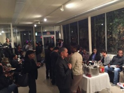 Bayview Hunters Point residents celebrate the rebirth of the Coleman Medical Center at the open house in March.