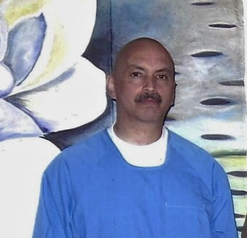 "Arturo Castellanos is also a principle negotiator and former ""main rep."" Each of the four comes from a distinct racial or geographic group – what CDCr calls whites, blacks and Southern and Northern Hispanics – and prison officials counted on controlling them by keeping them divided and conquered. When these three men, Sitawa, Todd and Arturo, were placed in adjacent cells in the Pelican Bay SHU, CDCr expected them never to talk to each other. But they did, eventually becoming friends and planning the hunger strikes and now the Blue Print to ensure continuing progress and no backsliding on their incredibly hard-won gains. This picture was taken April 7, 2016."